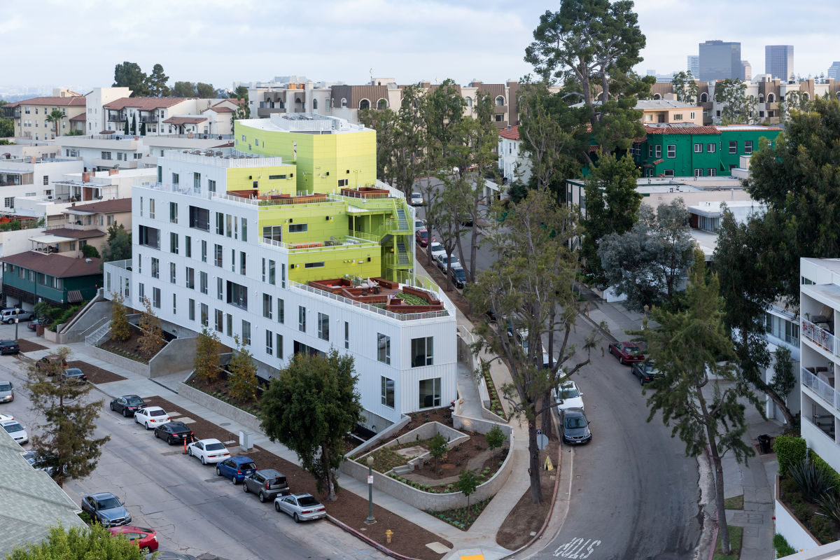 Loha Lorcan O Herlihy Architects Iwan Baan 183 Student And Faculty Housing Complex Los Angeles