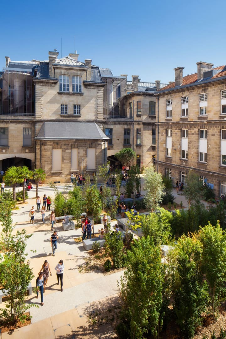 Debarre duplantiers associ s architecture paysage for W architecture bordeaux