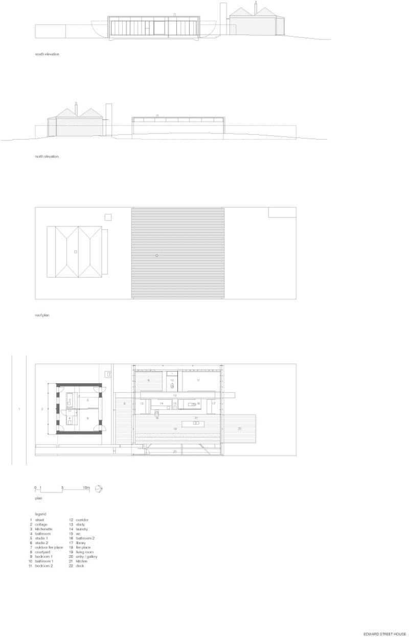 Sean godsell kew house plan